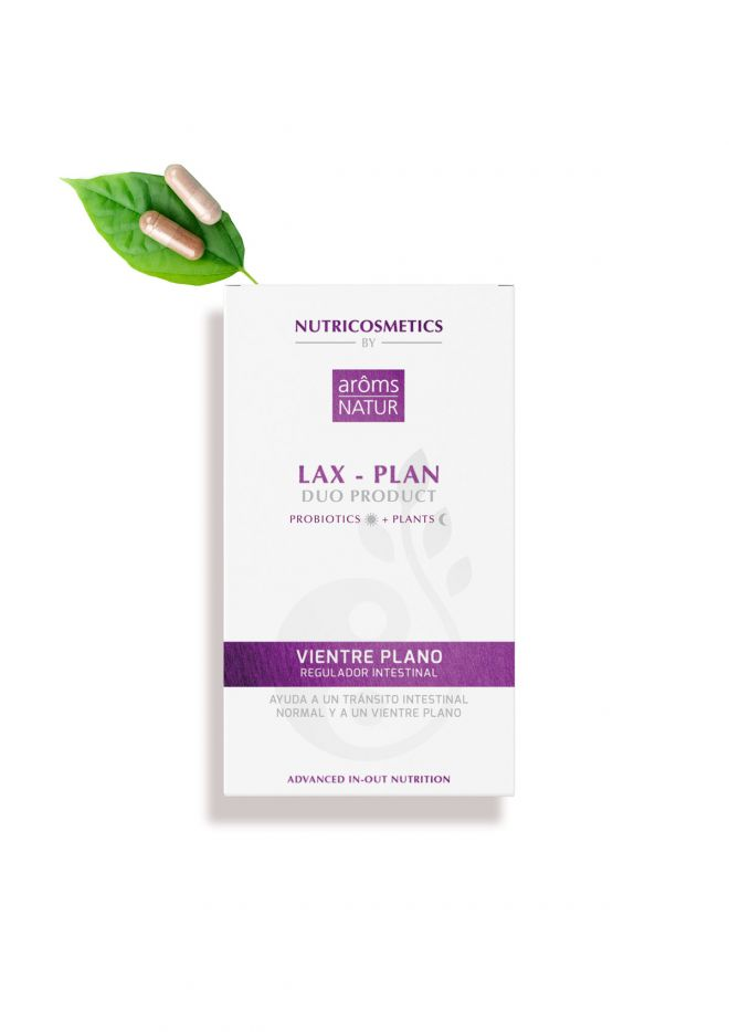Lax-Plan Duo Product Nutricosmetics 40 caps