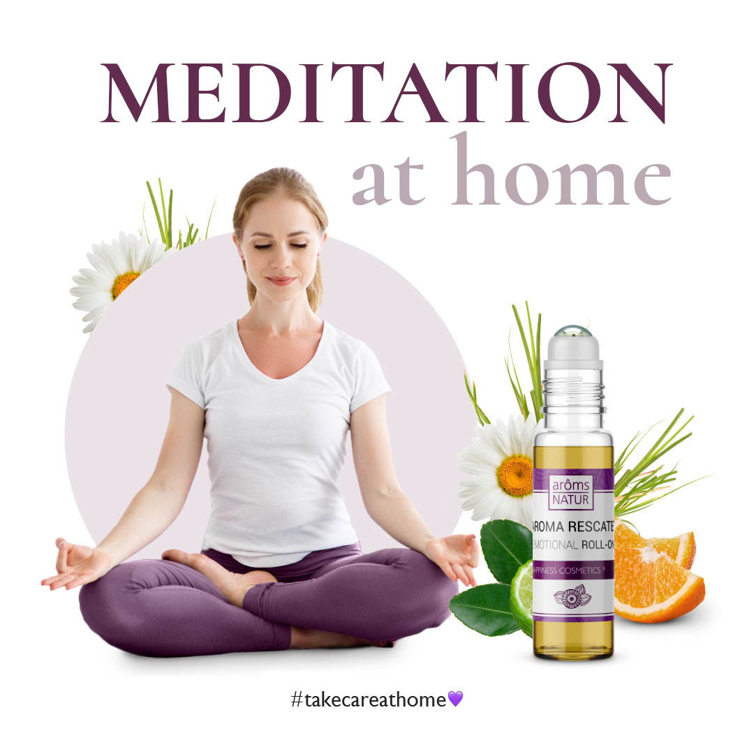 MEDITATION WITH AROMA RESCUE